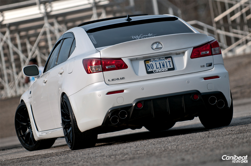 Lexus Isf White
